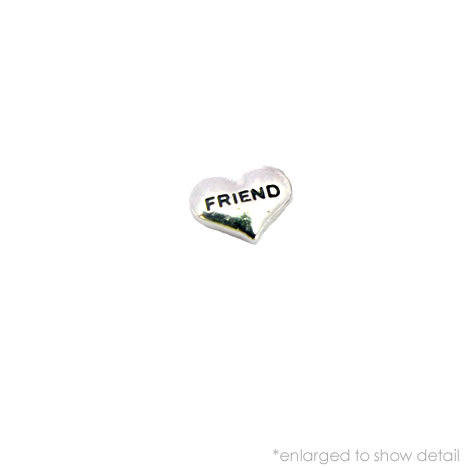 Friend Heart Charm
