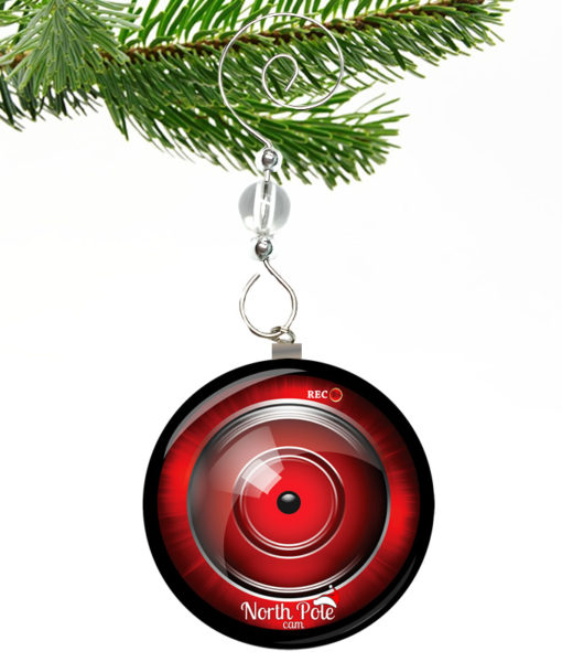 North Pole Cam Ornament