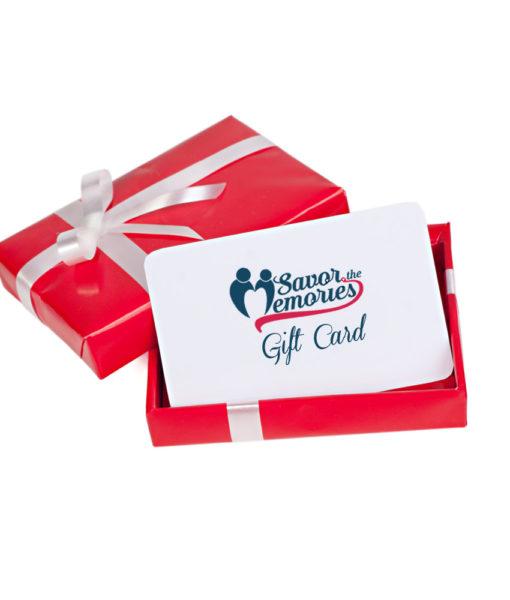 Savor the Memories Gift Card