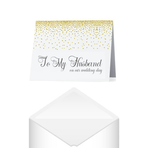 to my husband groom on our wedding day card savor the memories