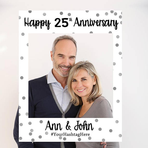 Anniversary/Event Photo Booth Frame – Savor the Memories